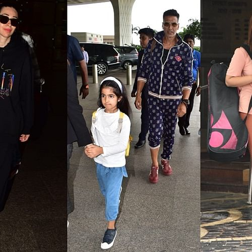 Picture Diaries: Akshay Kumar, Karisma Kapoor and others snapped