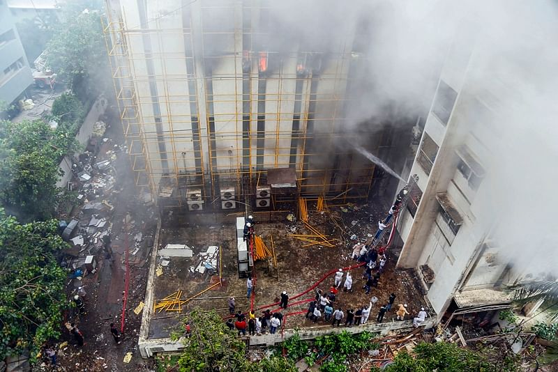 Mumbai: One of the most successful fire-fighting operations in the city