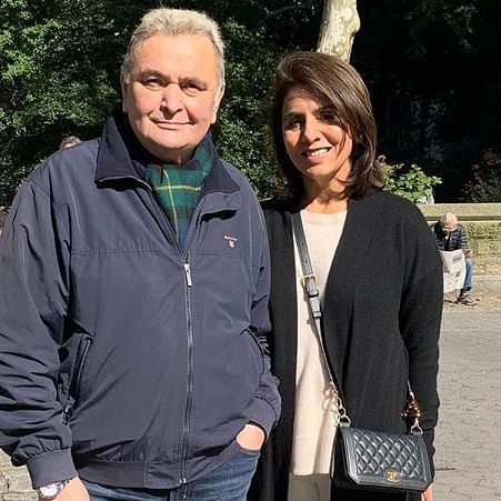 Neetu Kapoor shared 'horrible' first meeting with Rishi Kapoor