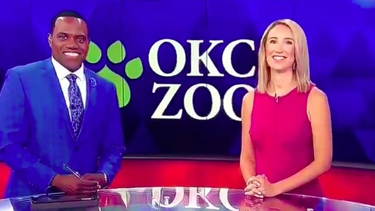 US news anchor apologizes after comparing black colleague to ape