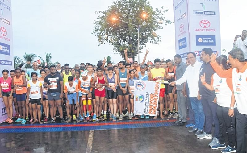 MBMC Mayor Marathon: 8,500 people run for cause