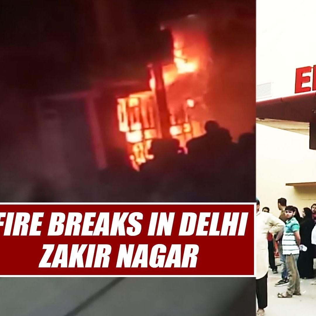 6 Dead, 11 Injured After Fire Breaks Out In Building In Delhi's Zakir Nagar