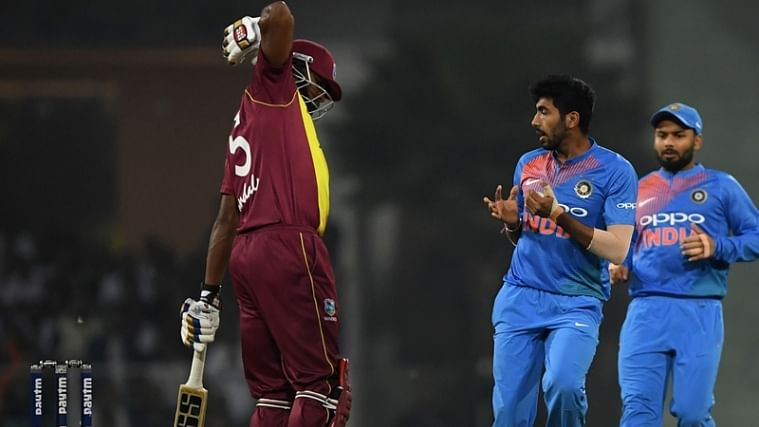 Cricket Score - West Indies vs India 1st T20I