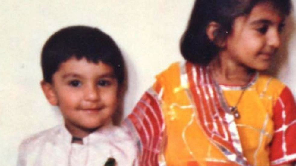 Ranveer Singh shares his protector's picture on Raksha Bandhan