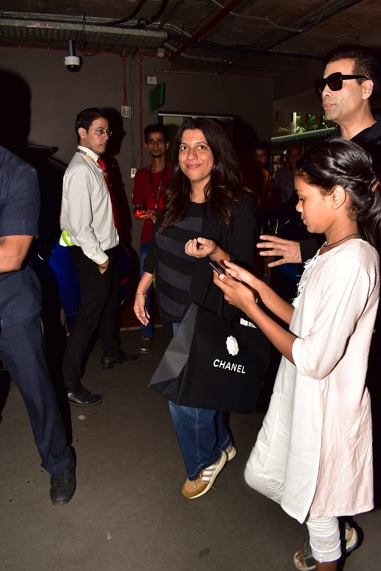 Zoya Akhtar who was present at the Melbourne film festival over the weekend returned back home with Karan Johar