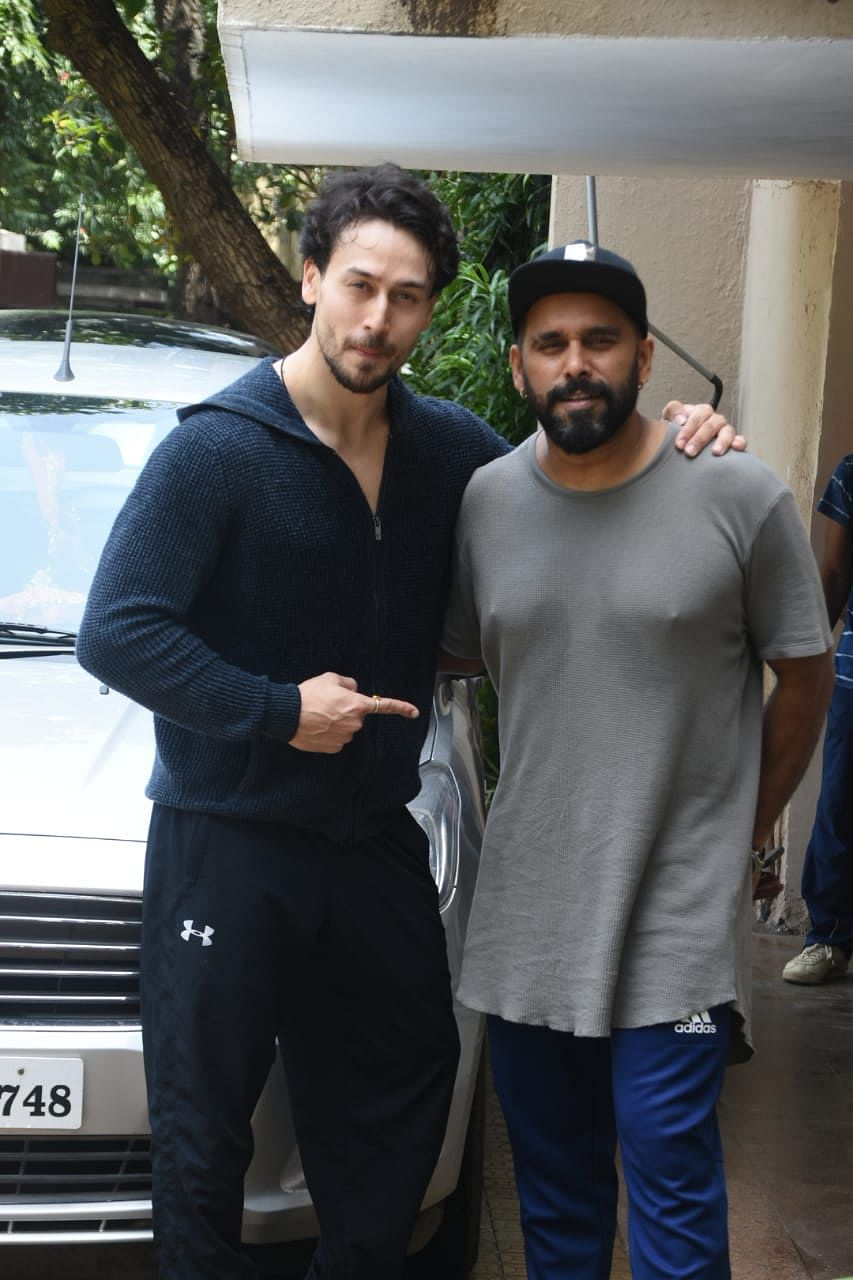 Tiger Shroff spotted at dance class Andheri exclusive