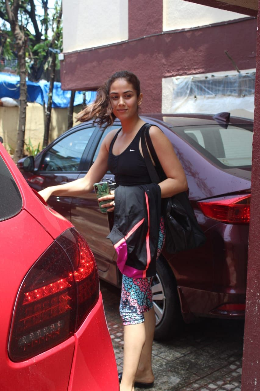 Mira Kapoor spotted at Pilates.