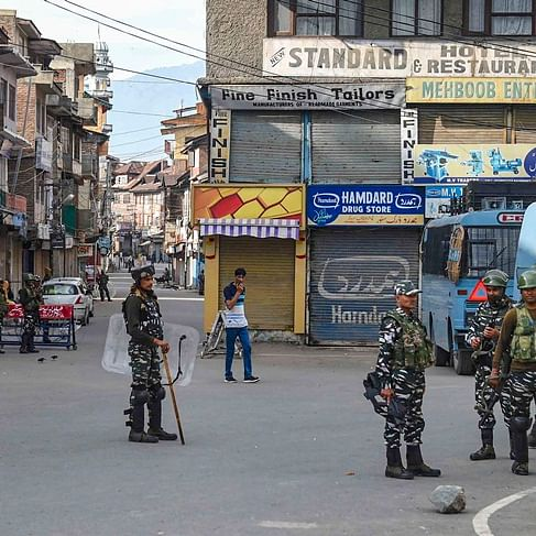 Phone lines in Kashmir to be restored over weekend, schools to reopen next week: J&K chief secy