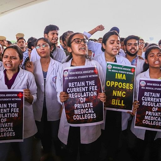 Doctors to continue strike against National Medical Commission Bill