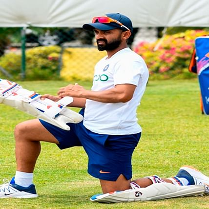 Ajinkya Rahane is not too concerned on missing out century