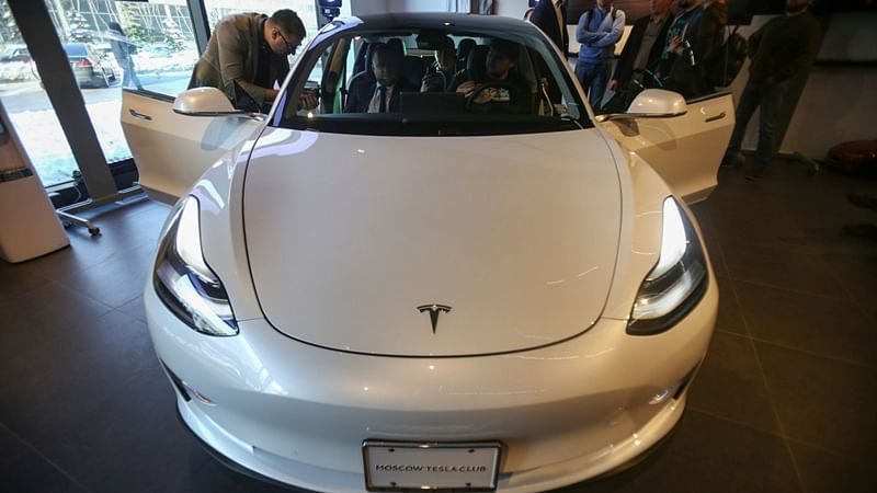Tesla Model 3 car explodes into flames, injures 3 after hitting truck