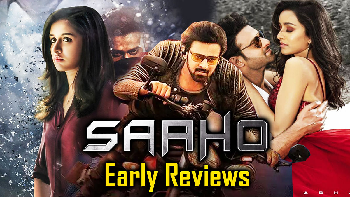 'Saaho' Early Reviews: Twitter Lauds Prabhas ,Shraddha Kapoor's Action Flick | Saaho Movie Review