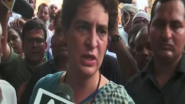 What about those who gave patronage, asks Priyanka Gandhi Vadra