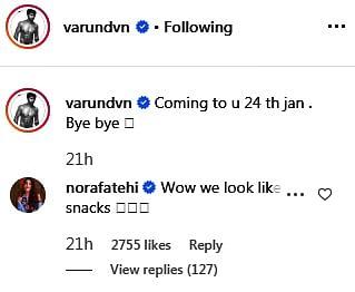 Varun Dhawan gets hilariously trolled by Arjun Kapoor over 'eyebrows'