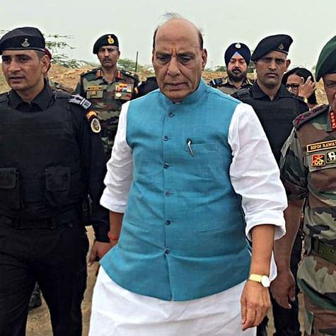 Talks with Pakistan only on Pakistan occupied Kashmir (PoK): Rajnath Singh