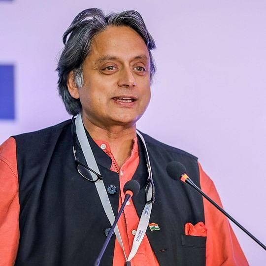 Shashi Tharoor shares another gem, says 'schadenfreude' in support of Chidambaram; Twitteratti baffled