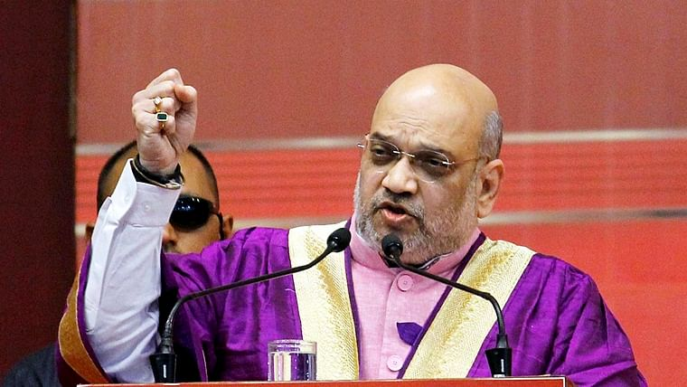 """PM Narendra Modi made Kashmir inseparable part of India in """"one go"""": Amit Shah"""