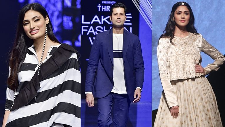 Highlights From Day 2 At Lakme Fashion Week Winter Festive 2019