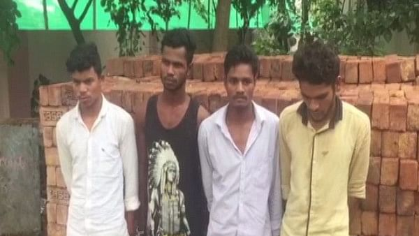 Police have arrested four people for allegedly gang-raping a 30-year-old lady in Telangana's Ranga Reddy district