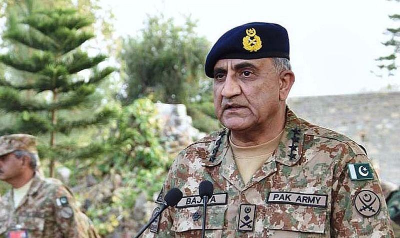 Qamar Javed Bajwa discusses Kashmir with Chinese general