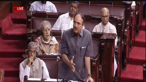 Leader of Opposition in Rajya Sabha Ghulam Nabi Azad