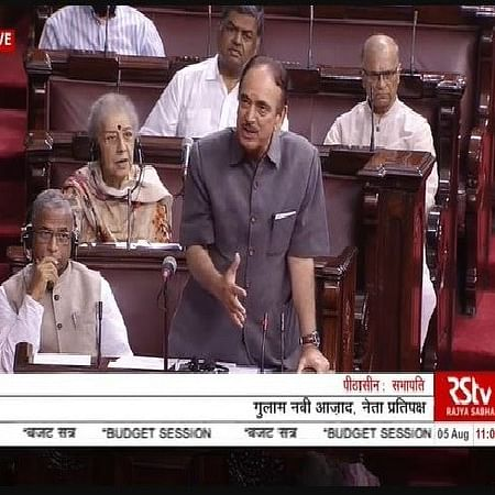 There is a war-like situation in J&K, says Ghulam Nabi Azad