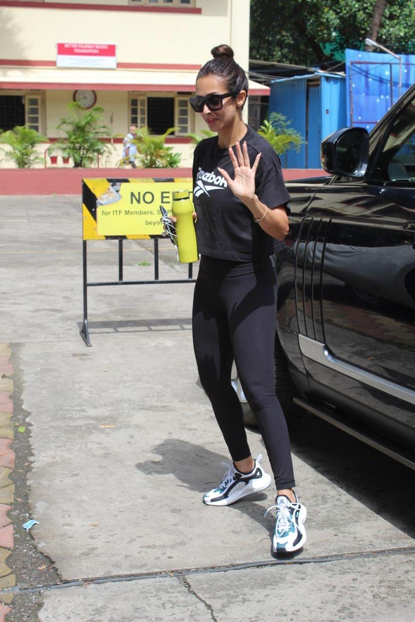 Malaika Arora at I think fitness