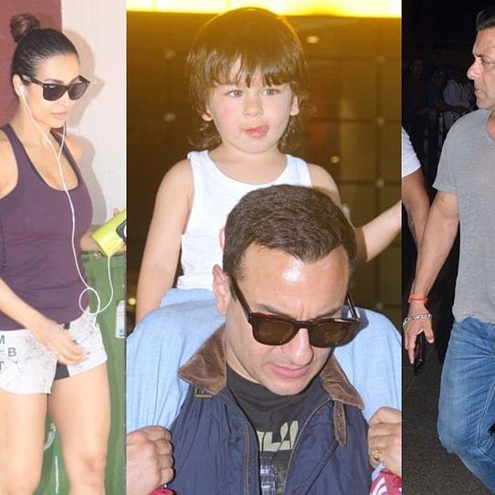 Taimur returns back to Mumbai with parents Kareena and Saif Ali Khan, Salman Khan and more spotted