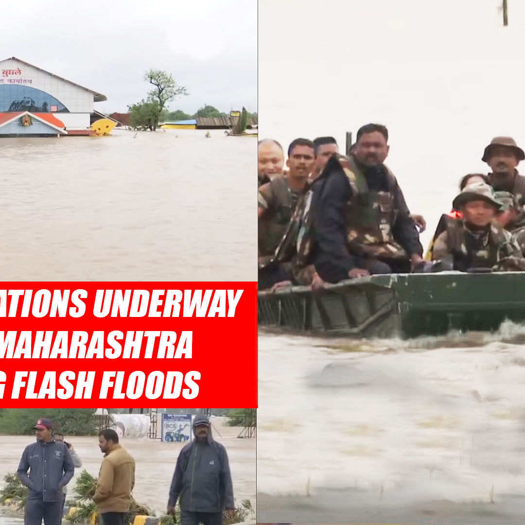 Rescue Operations Underway In Parts Of Maharashtra Following Flash Floods