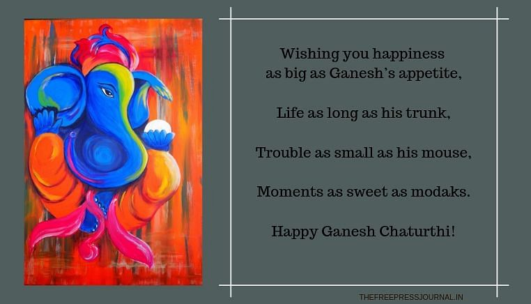 Ganesh Chaturthi 2019: Wishes, greetings, images to share on SMS, WhatsApp, Facebook and Instagram