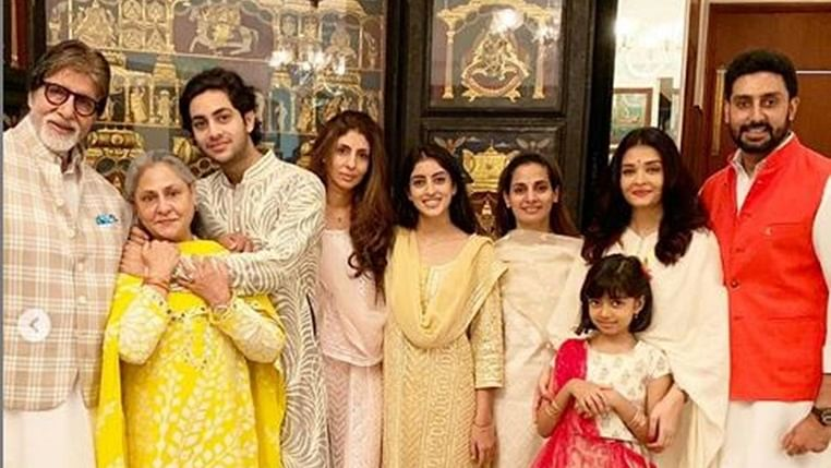 Aishwarya Rai Bachchan shares a glimpse of their fun filled Raksha Bandhan with entire family