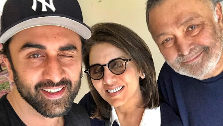 Neetu Kapoor shares 'like father like son' video comparing Rishi and Ranbir