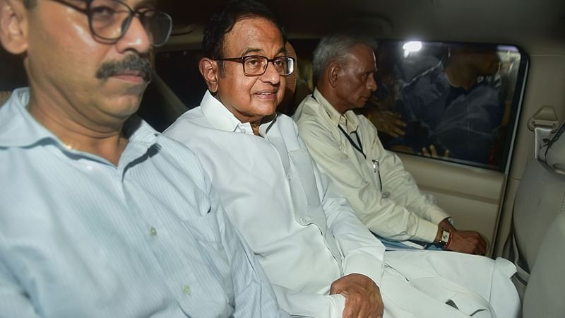 CBI team ferrets out P Chidambaram from residence after high drama