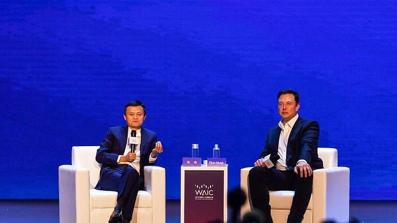 Elon Musk crosses swords with Jack Ma over AI capabilities