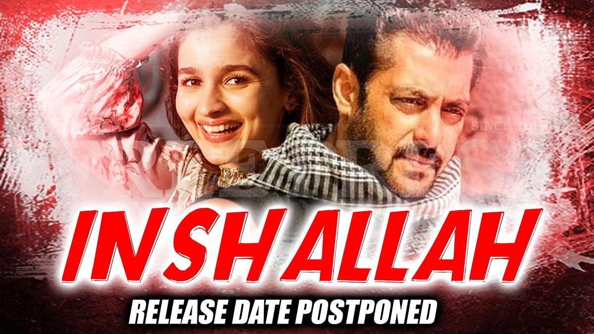 Salman Khan Official Announces Inshallah's Postponed, But Will Still Have Eid 2020 Release
