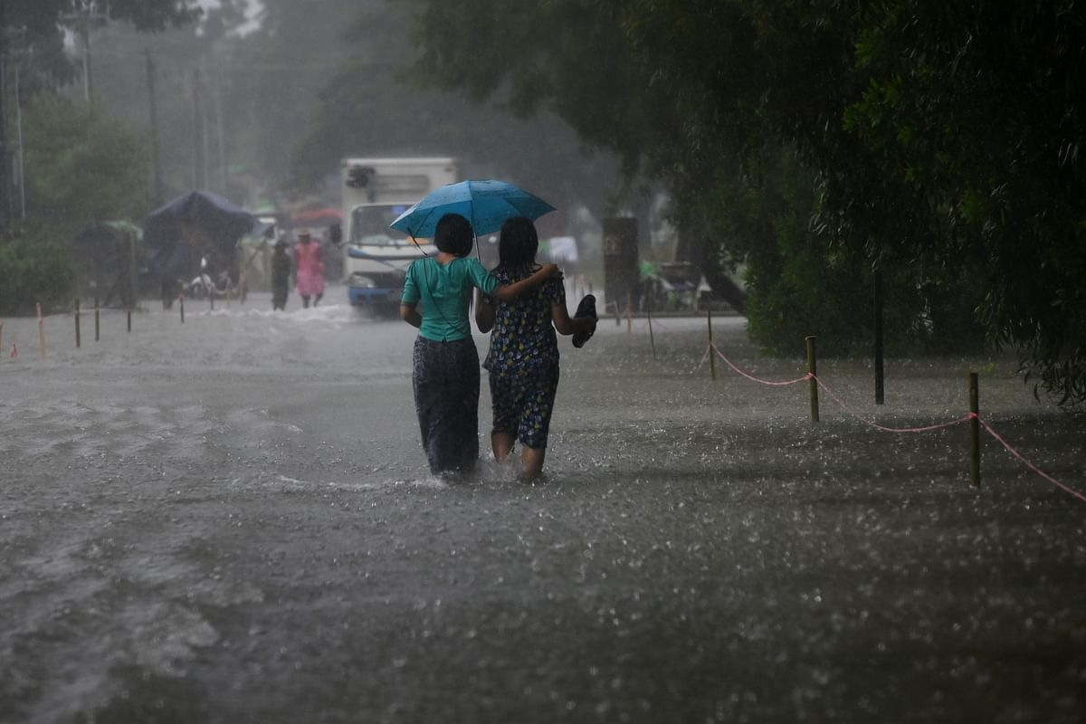 Heavy to very heavy rain in Indore, Ujjain div today
