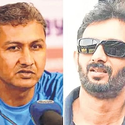 Sanjay Bangar bounced out; Vikram Rathour next man in