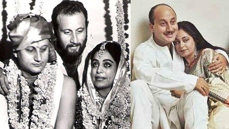 Anupam Kher shares wedding photo to wish wife Kirron Kher on 34th wedding anniversary