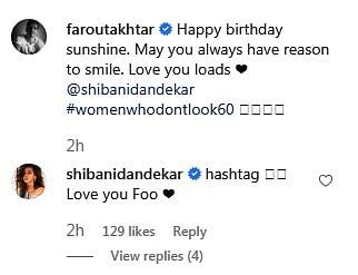 Farhan Akhtar wishes his 'Sunshine' Shibani Dandekar on her 39th birthday