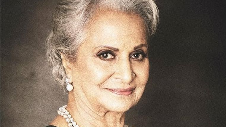 Waheeda Rehman shoots for 'Desert Dolphin' with Mac Mohan's daughter as director