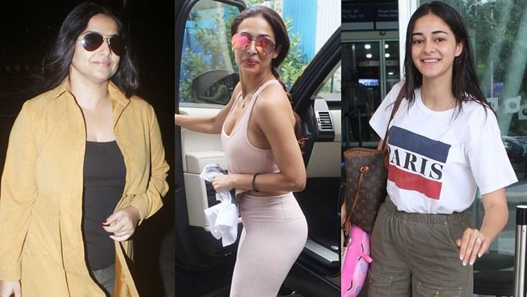 Paparazzi Files: Ananya Panday, Malaika Arora, and others clicked