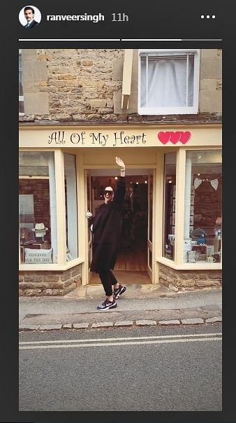 Deepika Padukone has all of Ranveer's heart in this cute boomerang video