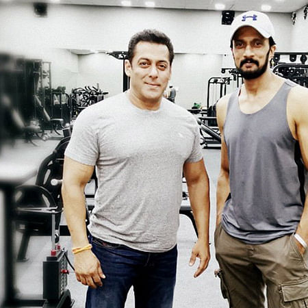 Salman Khan and Kichcha Sudeep to face off bare-chested 'Dabangg 3'