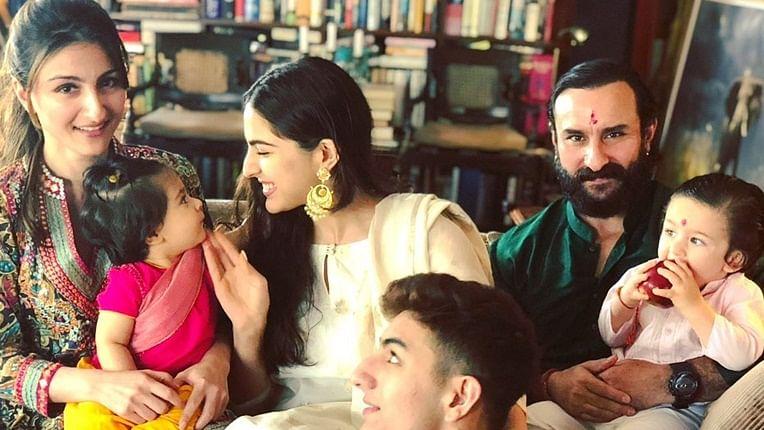 Soha Ali Khan reminisces Pataudi family's Raksha Bandhan with a throwback picture