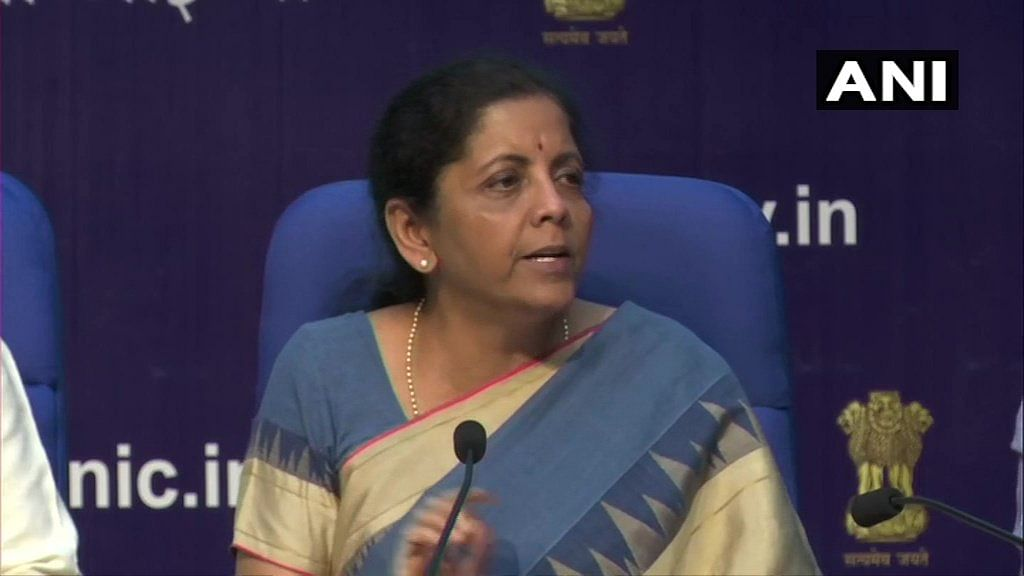 Nirmala Sitharaman announces revocation of angel tax on startups
