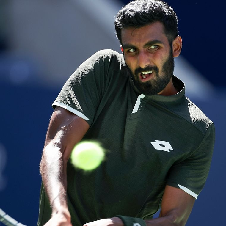 I did hit Medvedev with my game but twisted ankle did not help: Prajnesh