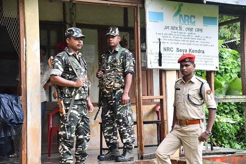 Security measures tightened in Assam, Sec 144 Cr PC in Guwahati ahead of final NRC