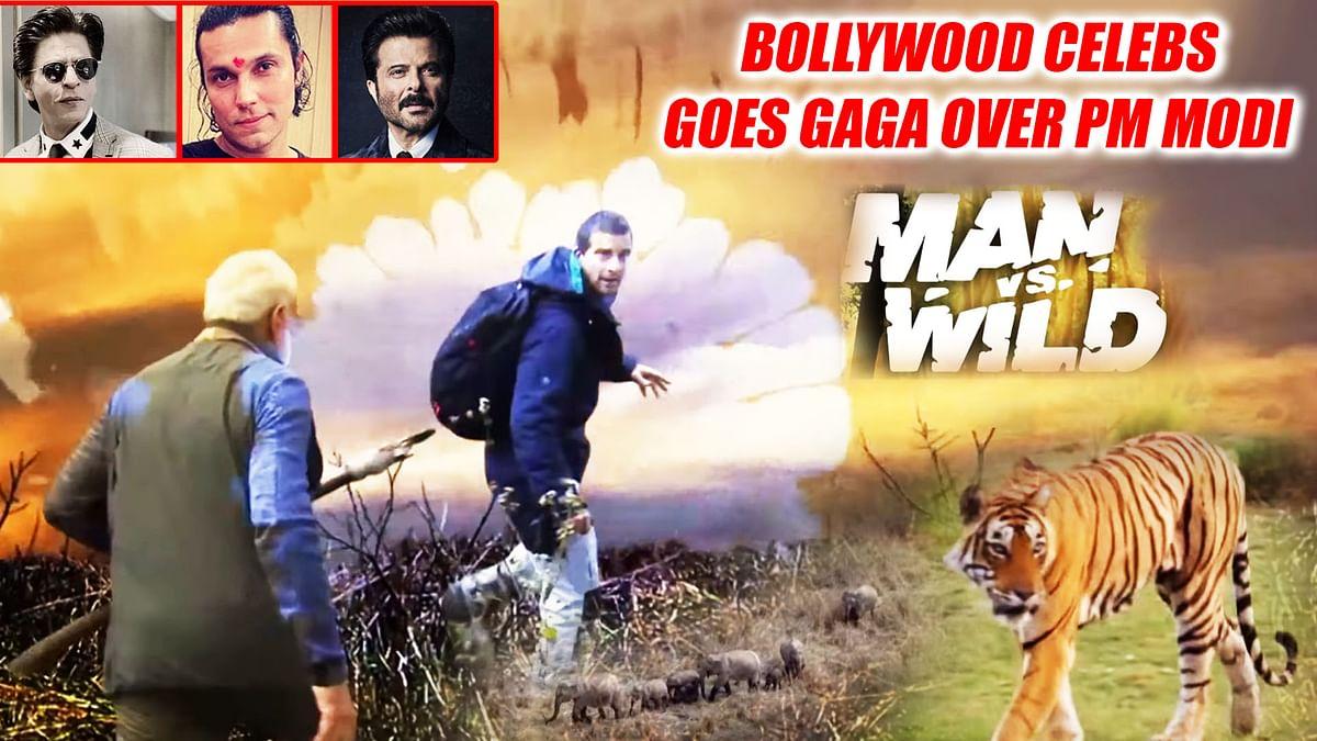 Bollywood Celebs Goes Gaga Over PM Narendra Modi In 'Man vs Wild'