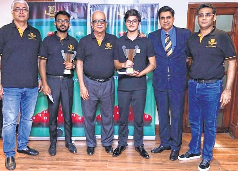 Kreishh Gurbaxani pockets Bombay Gym snooker crown
