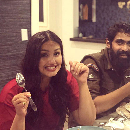 Huma Qureshi, Rana Daggubati bond over scrumptious Indian food in California
